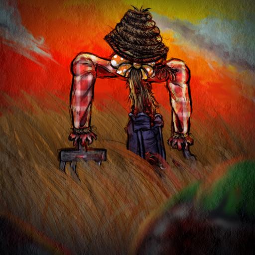 ScarecrowSearchingforWisdomPortrait