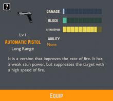 Automatic Pistol Info