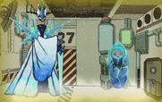 The Snow Queen Ice Prison