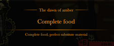 AmberDawnCompleteFoodMessage