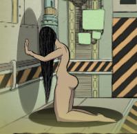 Woman Facing the Wall