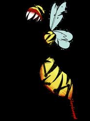 QueenBeeWorkerBeeCrop