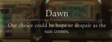 Dawn Message