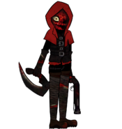Red Hood mask off