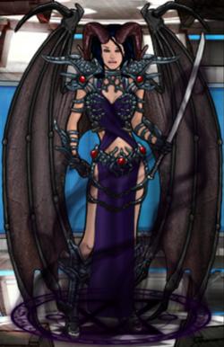 Mina, Goddess of Demons (Succubus Form)