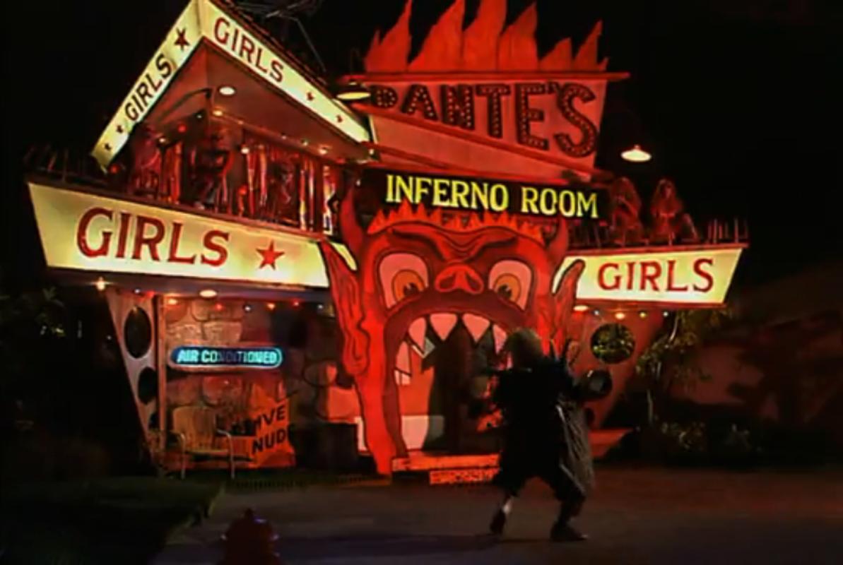 dantes inferno girl