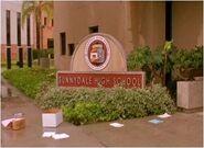Sunnydale high sign