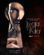 Locke & Key Character poster Nina Locke