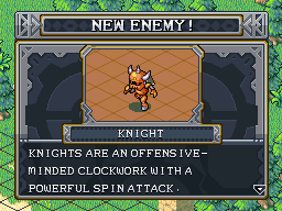 New enemy knight