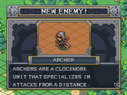 New enemy archer