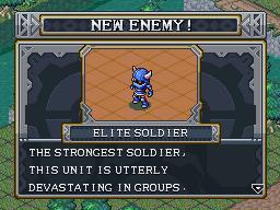 New enemy elite soldier