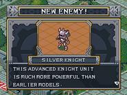 New enemy silver knight