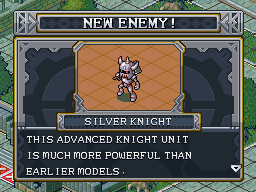 New enemy silver knight