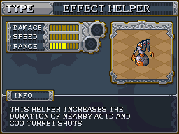 Effect helper preview