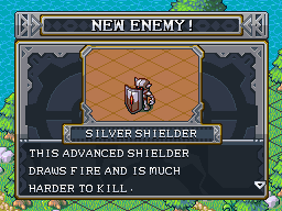 New enemy silver shielder