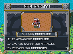 New enemy silver burrower