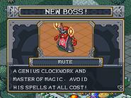 New boss mute
