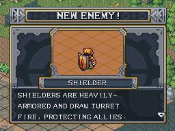 New enemy shielder