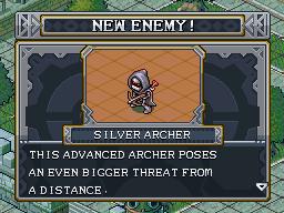 New enemy silver archer