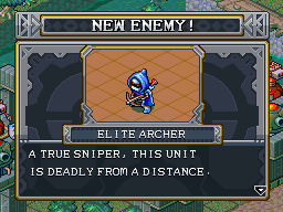 New enemy elite archer