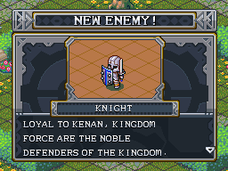 New enemy knight kf