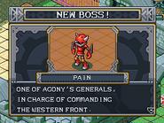 New boss pain