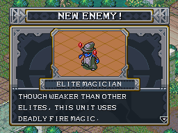 New enemy elite magician