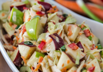 WikiActivity - menu-04 - Apple cinnamon coleslaw