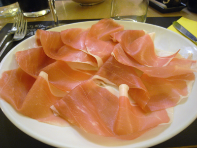WikiActivity - menu-01 - Parma ham