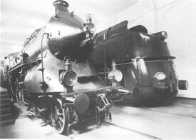 05 001 & Bavarian 3201 Steam Engine