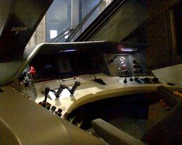 Electric Locomotive Cab