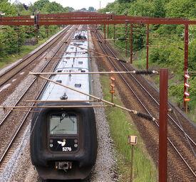 Railway-electrification