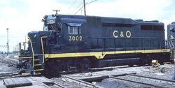 C&O GP30