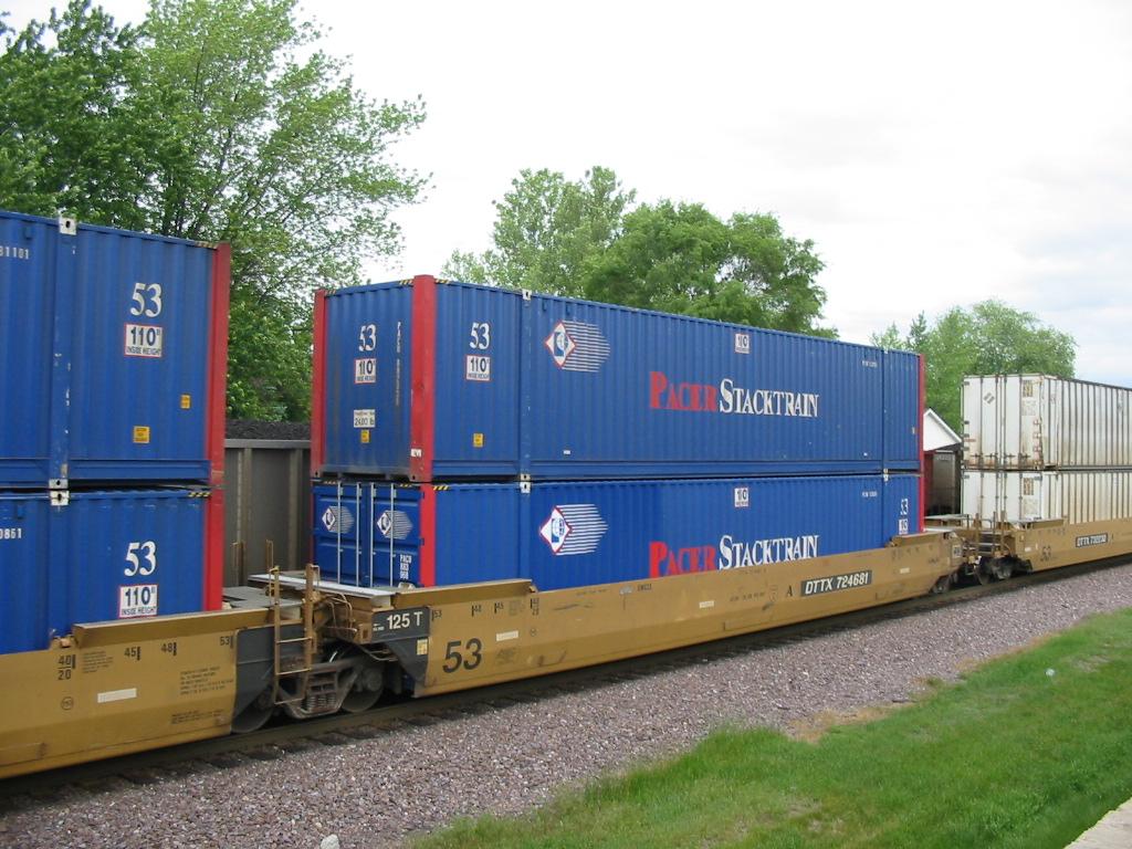 Double-stack rail transport   Locomotive Wiki   FANDOM