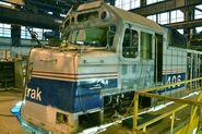 Amtrak 406 Cab