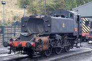 Pannier Tank engine 1501 at Bridgenorth