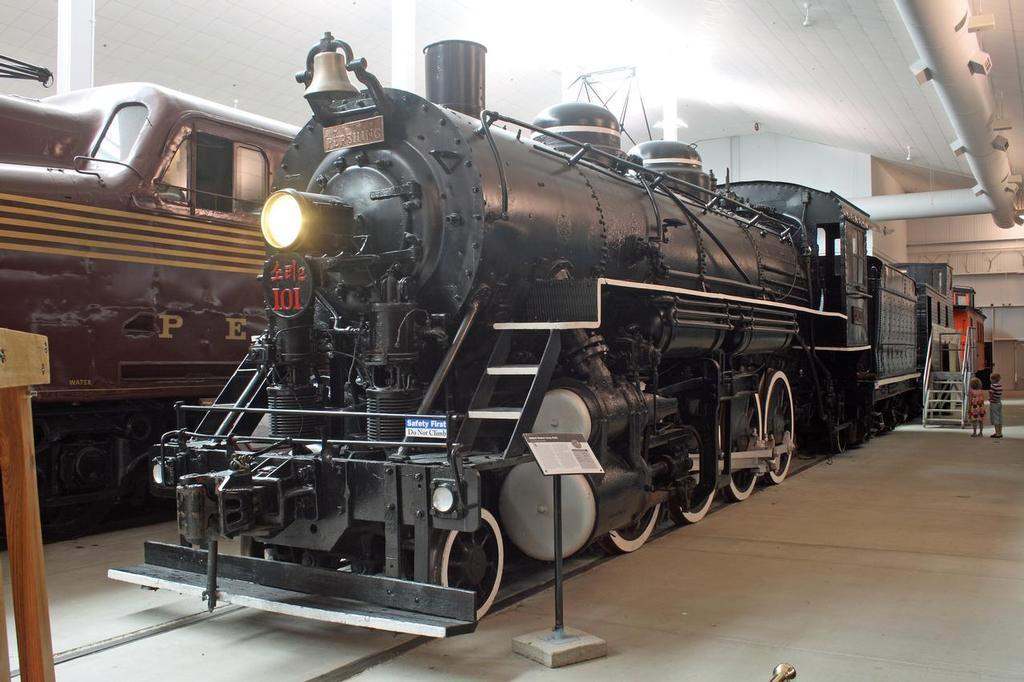 2 8 0 Consolidation Type Locomotives: United States Army No. 101