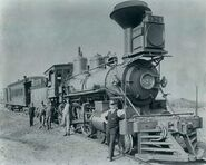 Union Pacific steam locomotive 924