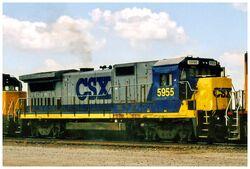 CSX B40-8