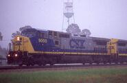 CSX C44-8W