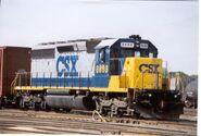 CSX SD40-2 8888