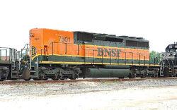 BNSF SD40-2B