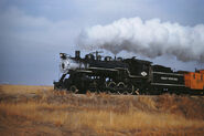 Great Western RR 64 - Dec 6 1958 - 2 10 0 no. 90 near Loveland CO-L