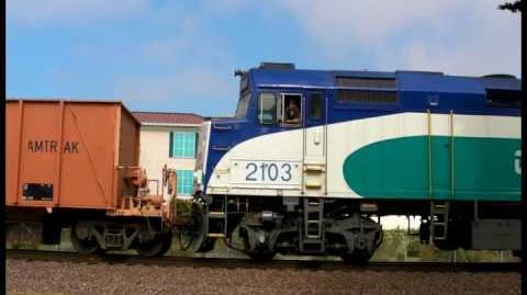 S.D.N.R. Ballast Train