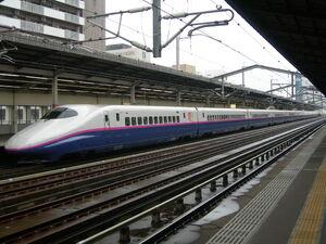 SeriesE2 in Utsunomiya Station