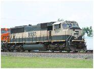 BNSF SD70MAC