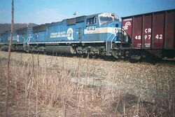 Conrail SD70MAC units