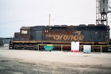 Scrapped D&RGW SD45