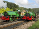 """Bagnall 0-4-0ST """"Alfred"""" and """"Judy"""""""