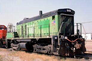 BNSF 3635 -2 SW1000B Clyde Yard 9-19-98 1024